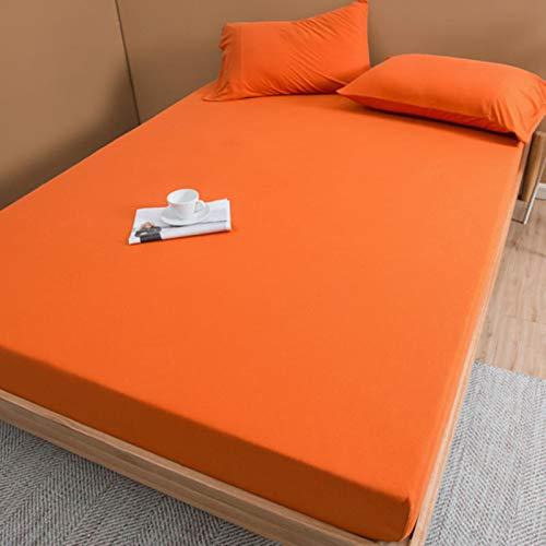 haiba Protector de colchón extra profundo de algodón para falda lateral, tamaño superking, calidad de hotel, comodidad y protección extra 48 x 74 cm