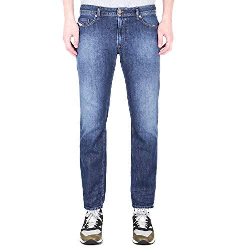 Diesel Thavar-XP Pantaloni Slim Fit Jeans in dunkelblauer Waschung