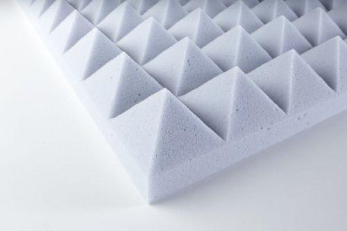 Eurokustik Panel fonoabsorbentes melamina basotect piramidal 50mm