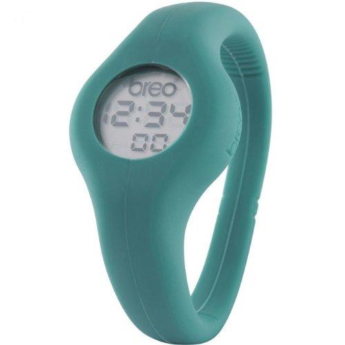 Breo B-TI-SPN4M - Correa de Reloj Unisex de Caucho, Color Azul