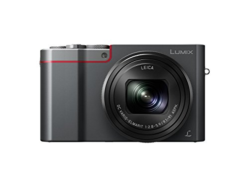 Panasonic Lumix DMC-TZ100 Digitalkamera, 20,9 MP, 10x optischer Zoom, silberfarben