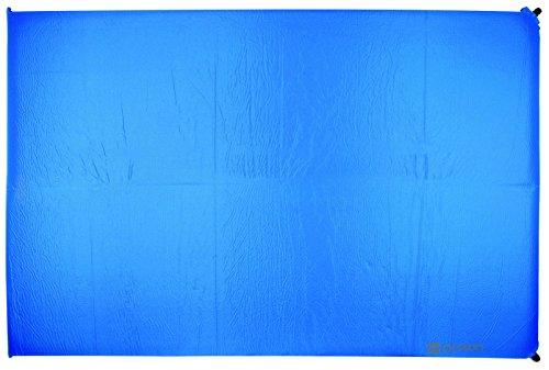 HIGHLANDER Matelas Isolant Base autogonflant Bleu 198 x 130 x 10 cm, sm119 de BL
