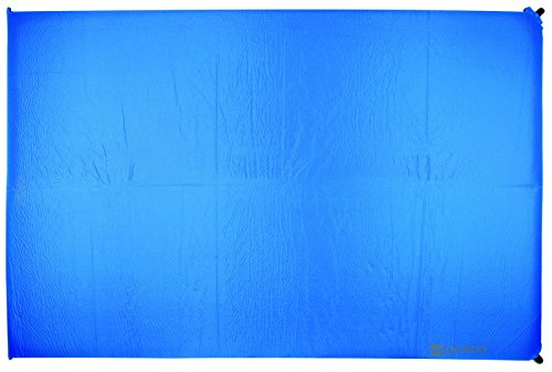Highlander Isomatte Base Selbstaufblasend, Blau, 198 x 130 x 10 cm, SM119-BL