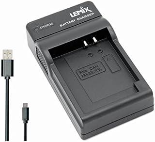 Lemix (NB13L) Cargador USB Ultra Slim para baterías Canon NB-13L & NB-12L para Modelos (enumerados a continuación) Canon Powershot & Vixia