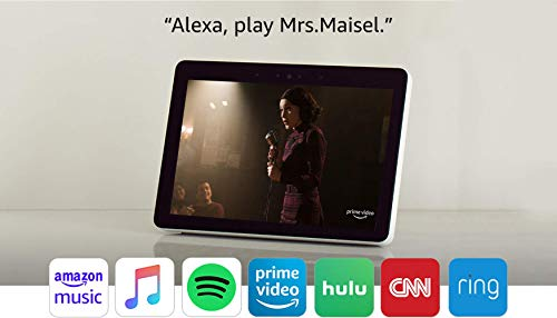 """Product Image 8: Echo Show (2nd Gen)   Premium 10.1"""" HD smart display with Alexa – stay connected with video calling – Sandstone"""