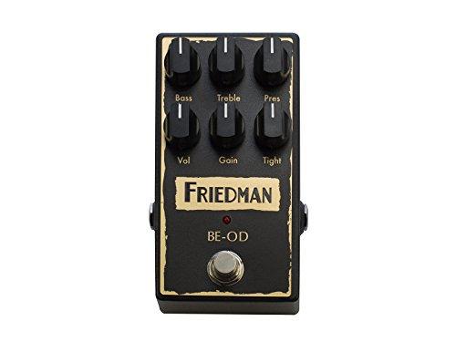 Friedman Amplification BE-OD Overdrive Guitar Effects Pedal [並行輸入品]