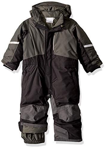 Columbia Kids' Toddler Buga II Suit, Black/Grill, 4T