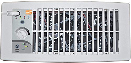Suncourt Flush Fit Register Air Booster Fan - HC500-W - White