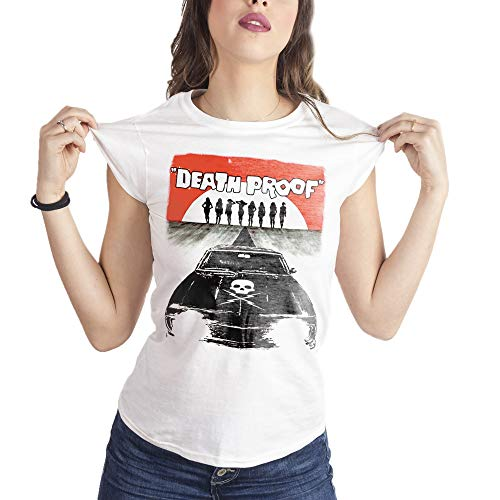 MUSH Eighteen Clothing Funny T-Shirt S Donna Death Proof Tarantino