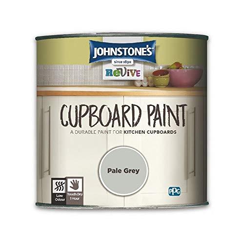 750ml Johnstones Revive Cupboard Paint Pale Grey