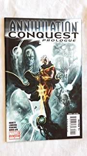 Annihilation Conquest Prologue # 1 Comic Book - Marvel Comics 2007 - Uncirculated Graded 9.8 By The Seller