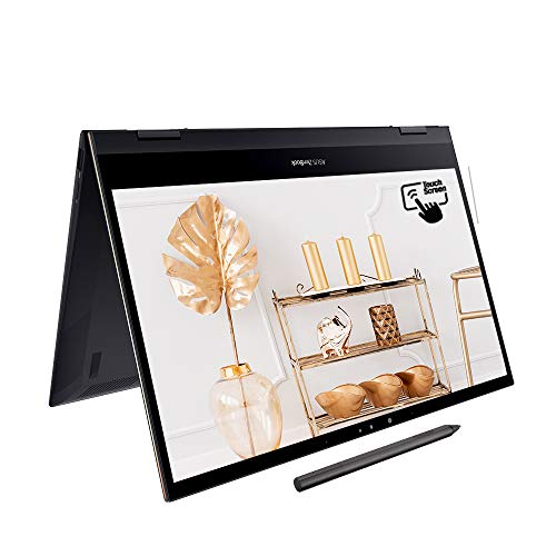 ASUS ZenBook Flip 13 UX371EA Ultra HD 13.3' Touchscreen 4K Laptop (Intel i7-1165G7, 16GB RAM, 1TB PCIe SSD, Windows 10) - Includes LED NumberPad, Sleeve & Stylus Pen