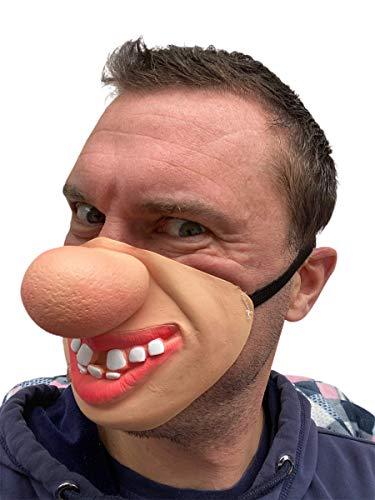 Rubber Johnnies TM Grand Nez Masque Latex Film FX Quality Déguisement Masquerade