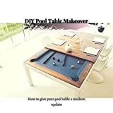 DIY Pool Table Makeover: How tо give your pool table a modern update (English Edition)