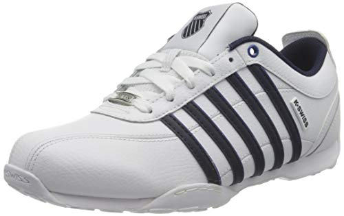 K-Swiss Herren Arvee 1.5 Sneaker, White/Navy/CLASICBLU, 42 EU