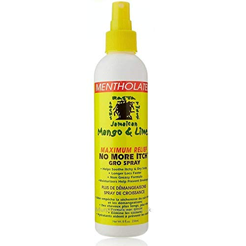 Medicated No More Itch Spray by Jamaican Mango