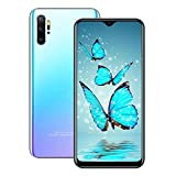 (6.53inch IPS Full-Screen), P40pro, Android Smartphone, 3GWCDMA: 850/2100/1900MHZ SIM Card Frequency Band, 2GB RAM 16GB ROM, Unlocked Cell Phone,(Please Confirm That Your SIM Card complies) (Purple)
