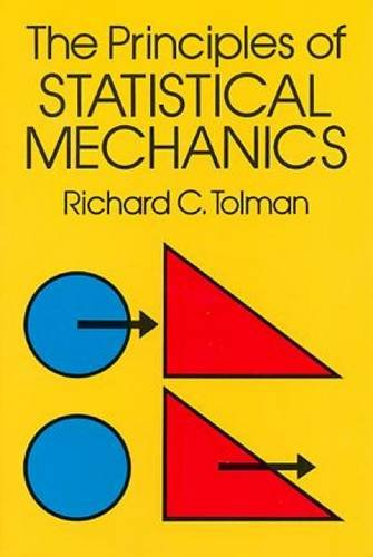 Image OfThe Principles Of Statistical Mechanics (Dover Books On Physics)