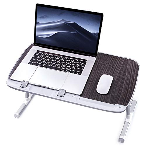 Review Laptop Desk for Bed, TaoTronics Lap Desks Bed Trays for Eating and Laptops Stand Lap Table, A...