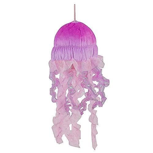 Teddys Rothenburg Kuscheltier Qualle 30 cm pink rosa Plüschtier Stofftier Kind Baby Spielzeug Plüsch