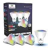Bombilla GU10 inteligente, compatible con Alexa, Google Home y SmartThings,...