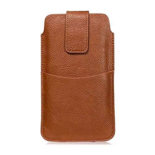 Funda del teléfono celular Cuero universal bolsa de la caja de cinta for 6,4' teléfono inteligente, for Samsung Galaxy S20 +, S20 Ultra, la Nota 10 Lite, S10 Lite, S10 +, S9...