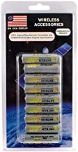 Hitech - 18 AA Rechargeable 2500mAh Ni-Mh Batteries for Canon PowerShot A540 / PowerShot A550 / PowerShot A630 / PowerShot A640 Digital Camera