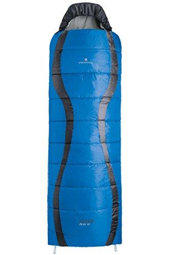 Ferrino Yukon Plus SQ Sac de Couchage, Bleu, 221 x 80 cm