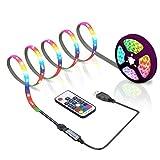 ACONDE 3M LED Streifen, USB LED Streifen Lichter mit 17 Tasten Fernbedienung, TV Hintergrundbeleuchtung [Energieklasse A+]