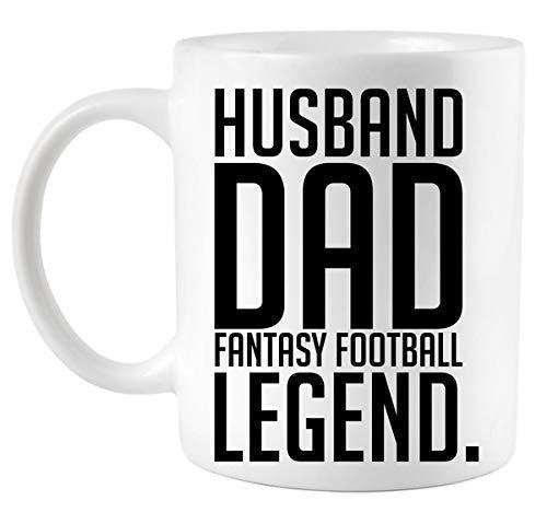 Husband Dad Fantasy Football Legend Coffee Mug