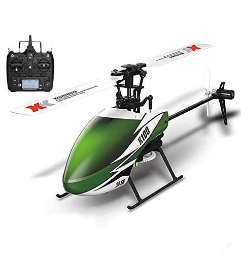 Elicottero telecomandato con sistema 6CH 3D 6G e elicottero RC Brushless Motor, aereo acrobatico RC con velivolo da telecomando giroscopico incorporato per bambini e principianti per giocare
