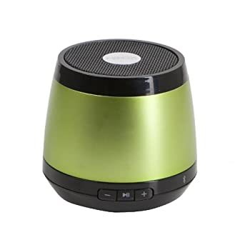 JAM Classic Wireless Bluetooth Speaker Small Portable Speaker Works with iPhone Android Tablets Notebooks Desktops iPad iPod Rechargeable Lithium-ion Battery Great Sound HX-P230GR Apple