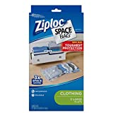 Ziploc Clothing Space Bag, 2-2/3'x3-1/2', L, 3 Count