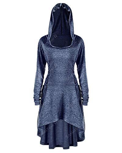 HX fashion Esmoquin Para Mujer Steampunk Victoriano Abrigo Gótico Con Capucha Tamaños Cómodos Uniforme De Boda Moda 2020 Ropa De Mujer