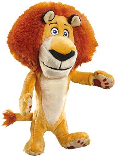 Schmidt Spiele 42707 DreamWorks Madagascar Alex - Peluche de león (18 cm), Multicolor