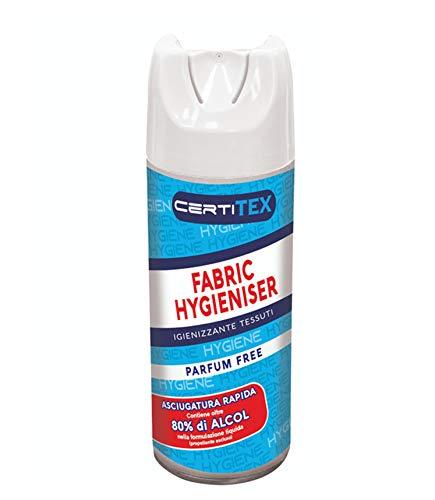 Home Pro Certitex - Alcool Spray Multiuso Igienizzante con Formulazione Alcolica 80% per Superfici Tessuti ed Ambienti, Asciugatura Rapida 400ml