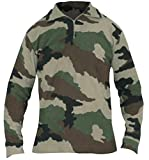 DCA France Chemise F1 Polaire Camouflage CE