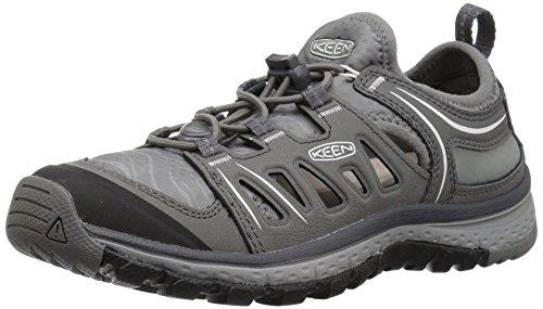 KEEN Women's Terradora ETHOS-W Hiking Shoe, Neutral Grey/Gargoyle, 8 M US