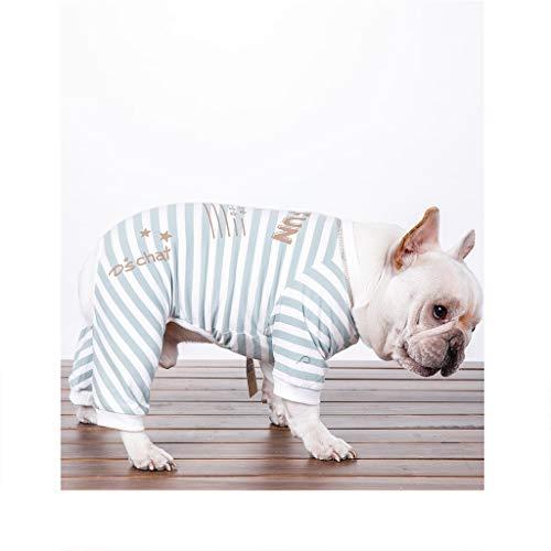 Hundemäntel Kostüme Klein Mittel Hund oder Katze Hund Shirt Hund Pyjama Hunde 100{c3d3d8b13cc89b4c449d2d09d93d77a105b145d4b2ffb5fd8ccf9ebf3c3e7cd6} BaumwolleGröße (Größe X-Klein-XX-Groß)-A-S