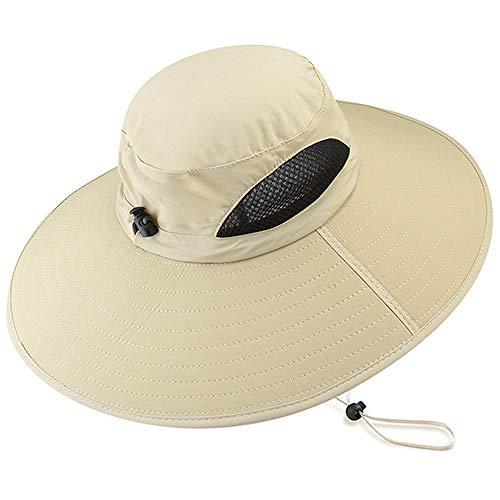 Pamelas Sombreros De Sol De Verano para Mujeres Hombres Boonie Wide Brim Safari Bucket Hat Playa Pesca Senderismo UPF 50+ Sombreros De Protección UV 2019