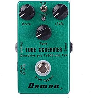 TS808 tubo Screamer Overdrive Pro Vintage guitarra eléctrica del Pedal del efecto