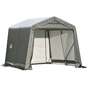 ShelterLogic 72823 Grey 10'x16'x8' Peak Style Shelter