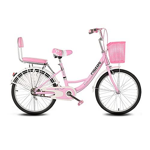 Bicicletas Retro, Bicicletas de CercaníAs, Llantas de 26 Pulgadas, Marco de Bajo Alcance de Acero con Alto Contenido de Carbono, para Ir Y Volver Del Trabajo, para Adultos/C/Como se mue