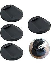 Meubilair Castor Cups 4 Stks, Rubber Voeten Pads Antislip Meubels Onderzetters, Stoel Been Vloerbeschermers Ideaal Bed Sofa Wiel Anti-Slip Pad