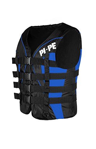 PI-PE Schwimmweste für Wassersport - größenverstellbar ideal für Männer Frauen und Kinder