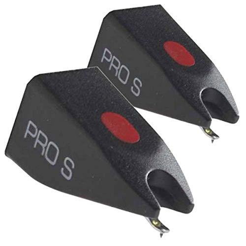 Ortofon Pro S Stylus – 1 Paar Ersatznadeln für Plattenspieler (ORTOFON STYLUS PRO S – 2 Stück)
