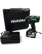 【Amazon.co.jp限定】HiKOKI(ハイコーキ) 旧日立工機 コードレスインパクトレンチ 36V マルチボルト 充電式 WR36DC(XP) 初回修理保証付き 蓄電池1個、充電器、ケース付き
