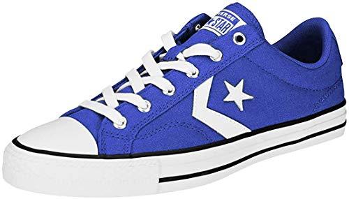 Converse Unisex-Erwachsene Star Player Ox Fitnessschuhe, Mehrfarbig (Blue/White/White 400), 40 EU
