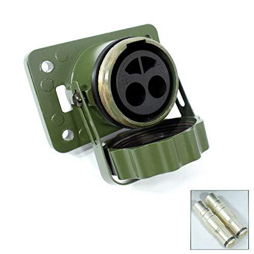 Sertplas Elektrikbedarf Installation/Stecker Steckdosen/Stecker/Steckdosen 2polig – Die Ausgang NATO-2pole-Oliva 35qmm VG96917 151208