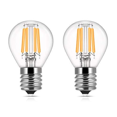 DORESshop E17 Base LED Globe Bulb, 40W Incandescent Equivalent, 4W...